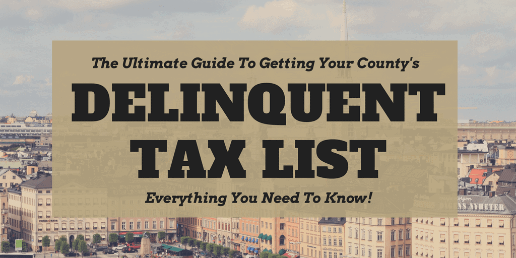 Delinquent Tax List