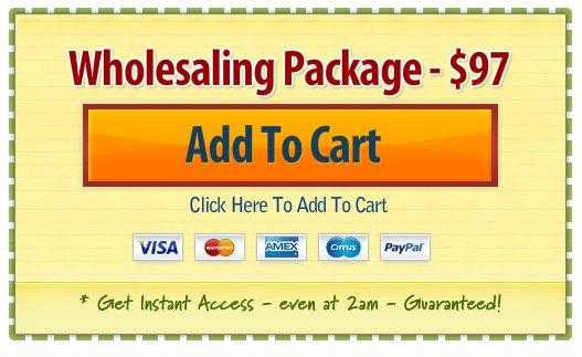 Wholesaling Package 97