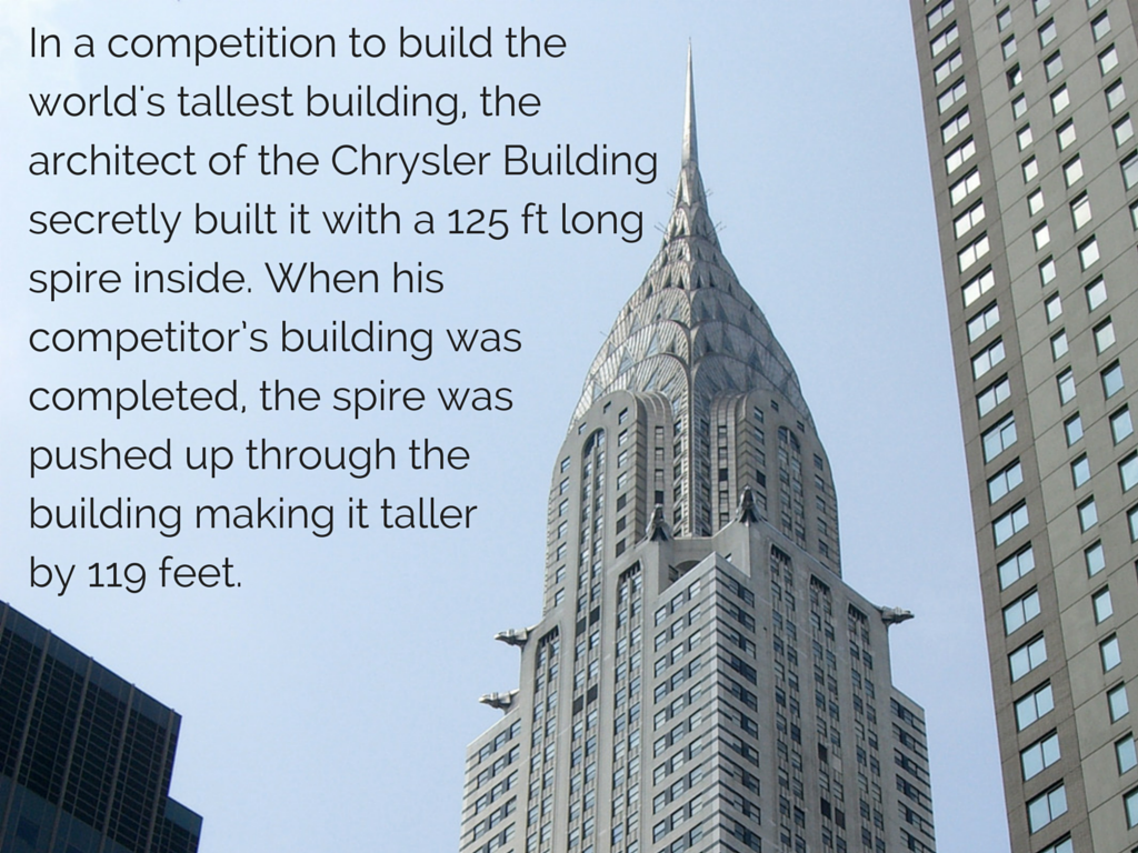 Chrysler Building Wikipedia: 35 Real Estate Facts That Will Blow Your Freaking Mind