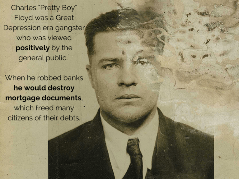 a biography of charles pretty boy floyd Buy a cheap copy of pretty boy: the life and times of book by michael wallis a biography of the one of americas most notorious criminals describes pretty boy floyds coming of age in poverty, his descent into petty crime and.