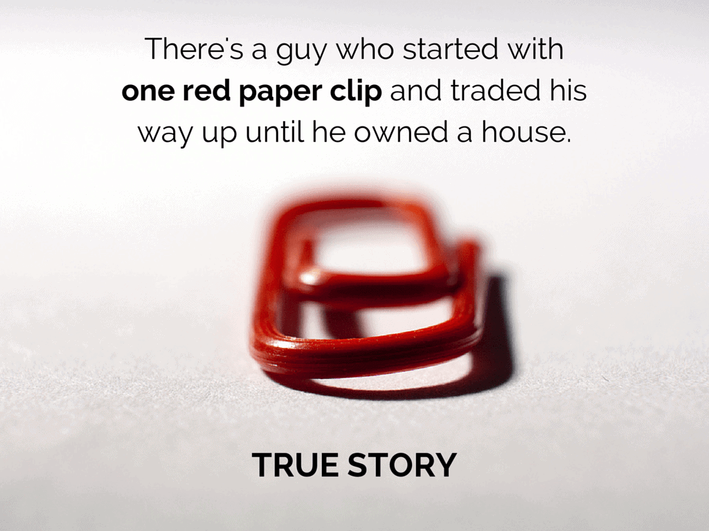 One-Red-Paperclip