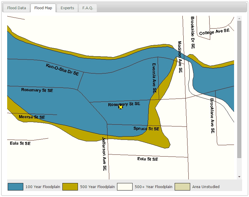 Is Your Property In A Flood Zone Find Out In Minutes Or Less - Sea level elevation map by address
