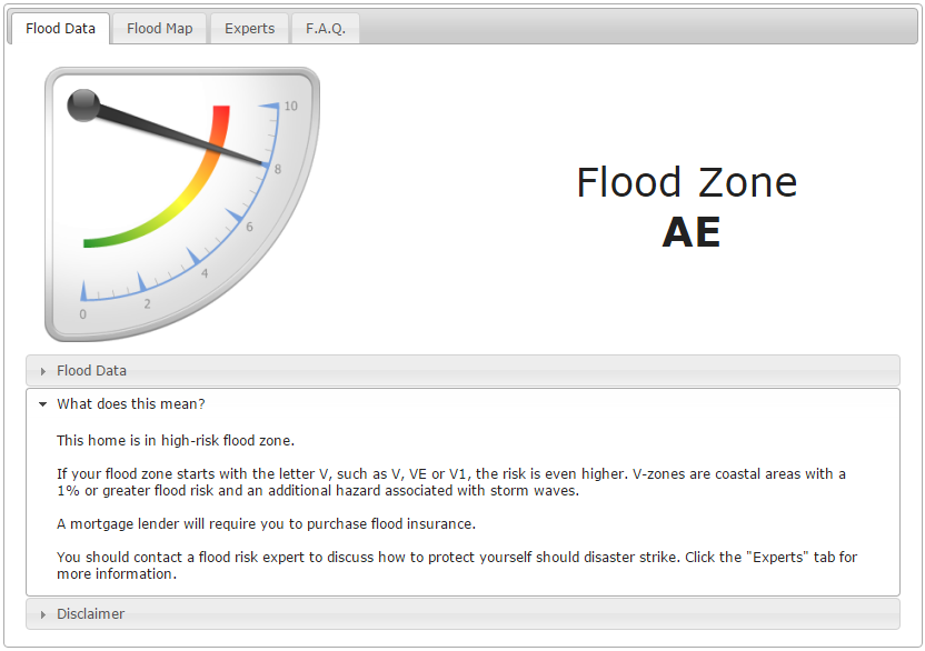 is your property in a flood zone find out in 2 minutes or