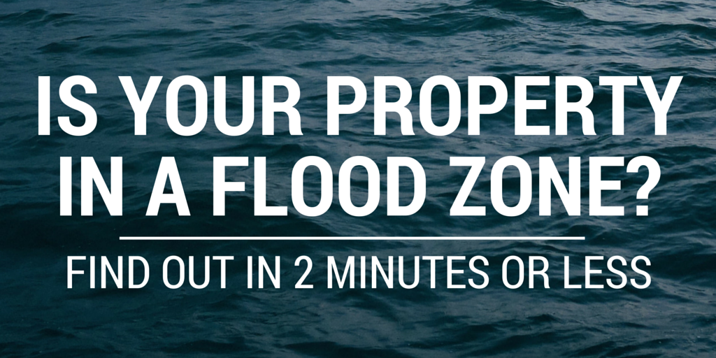 Property In Flood Zone But House Not