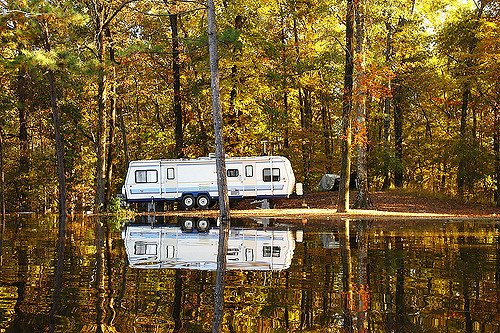 travel trailer parking