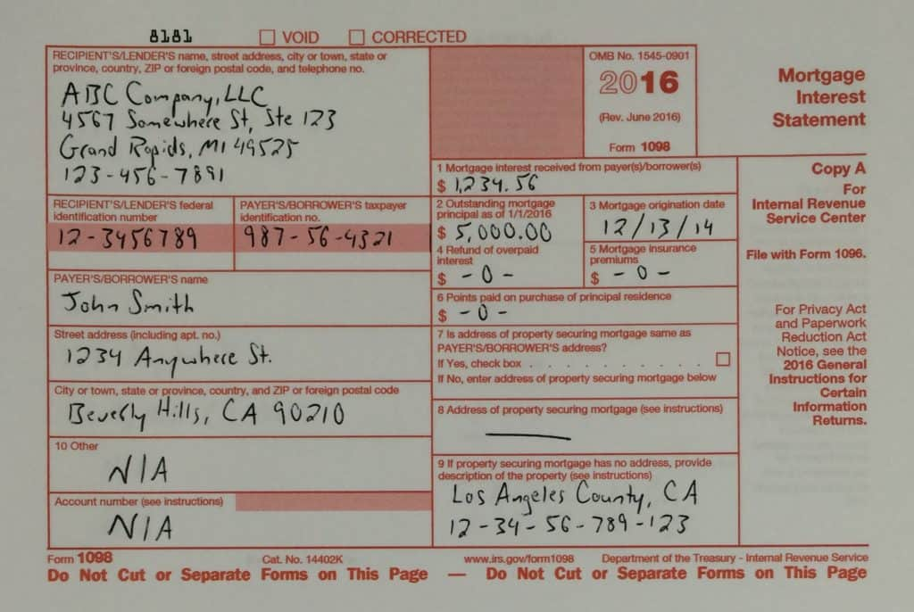 What The Heck Is Irs Form 1098 And Why Does It Matter Retipster