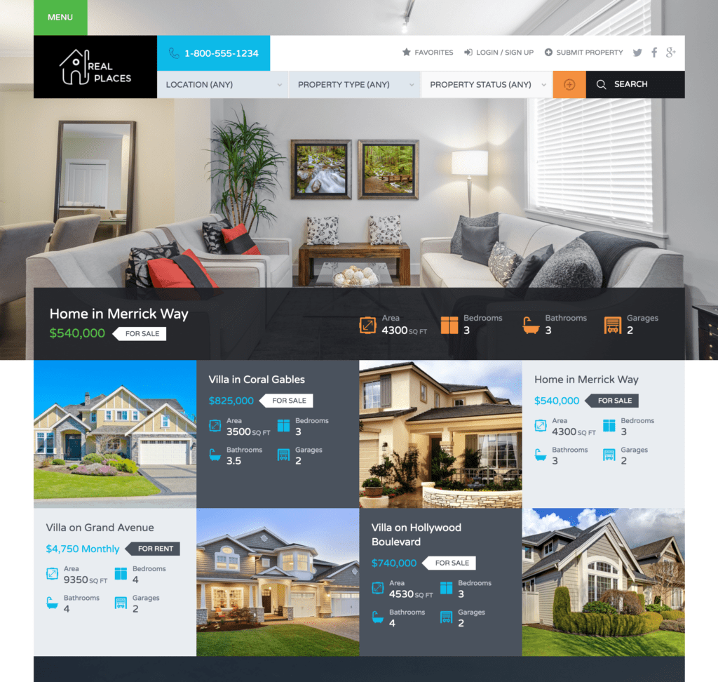 Top 10 WordPress Themes for Real Estate Agents and Investors - REtipster