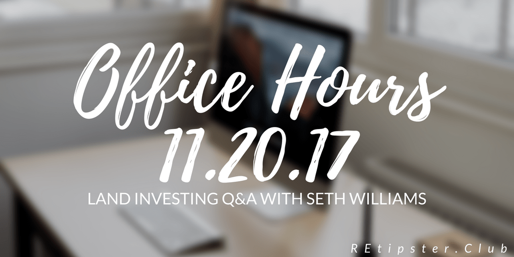 Office Hours 11.20.17