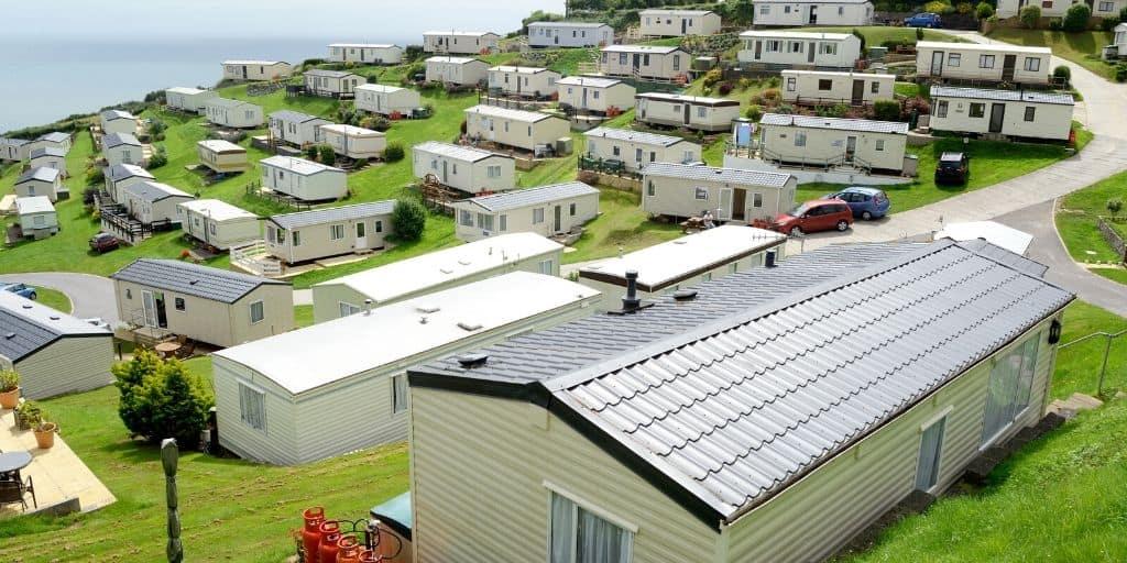mobile home park england