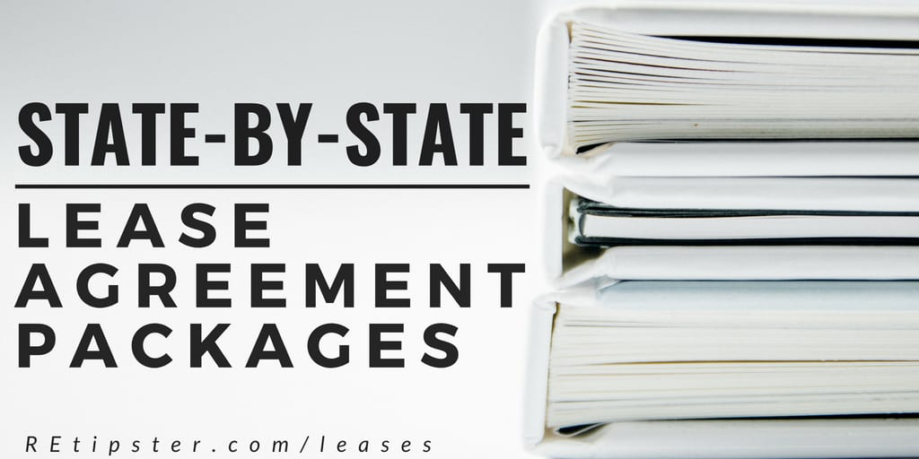 State By State Lease Agreement Packages Are Here