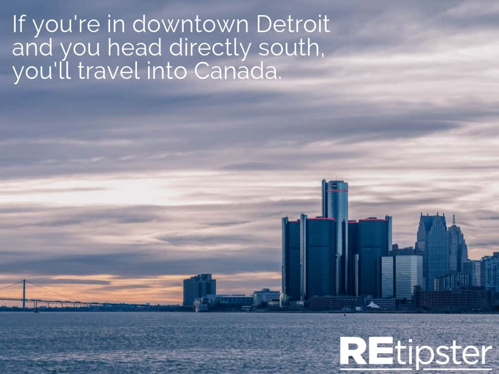 Detroit to Canada South