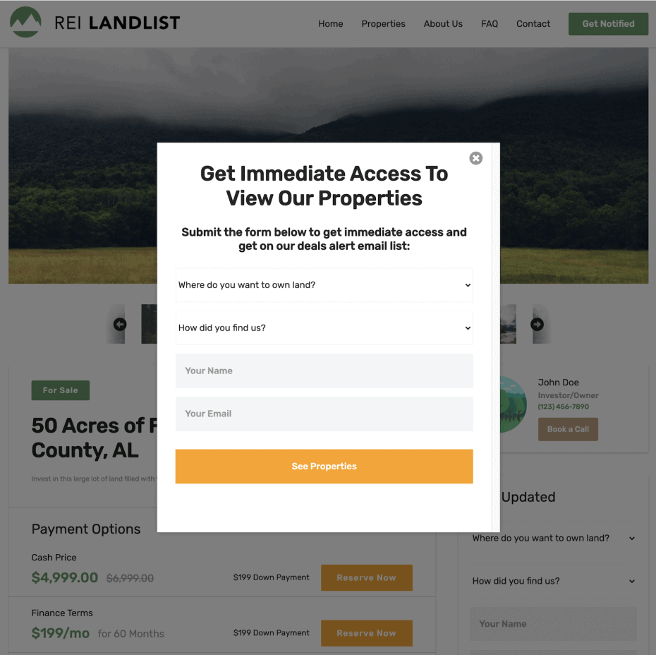 property content lock