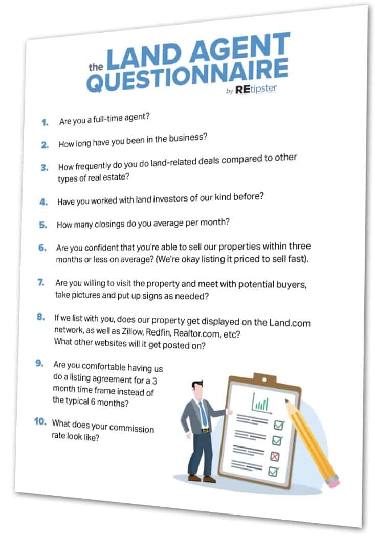 REtipster Land Agent Questionnaire